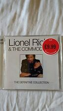 LIONEL RICHIE & THE  COMMORDORES THE  DEFINITIVE COLLECTION   CD   2 DISC NEW