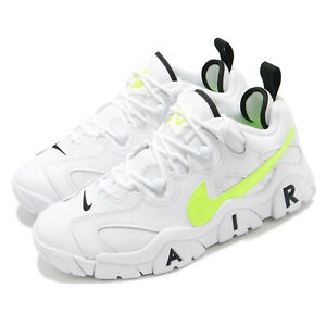 Nike Air Barrage Low White Volt Yellow Men Casual Lifestyle Sneakers CN0060-100