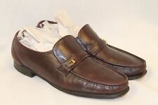 Florsheim Imperial Mens Brown Leather Dress Shoes Loafers Duralit size 11.5 C