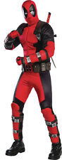 Men's Deadpool Costume X-Large Adult Grand Heritage Marvel Rubie's New