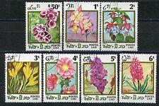 126 - Laos - Flowers - Used Set