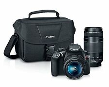 Canon EOS Rebel T6 Digital Camera with EF-S 18-55mm and EF 75-300 Premium Bundle