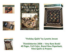 RARE! NEW! Thimbleberries HOLIDAY QUILTS - 40-Page Full-Color Book From 2006