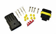 SUPERSEAL AMP TYCO WATERPROOF TERMINAL ELECTRICAL CONNECTOR 4 WAY 0.5-1.5 KIT