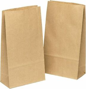 Papiertüten klein Kraftpapier tüten Bodenbeutel Adventskalender zum basteln