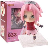 Naruto Shippuden Sakura Haruno Nendoroid 833 PVC Action Figure Model Toy