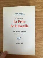 la prise de la bastille (14 juillet 1789)