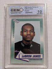 2002 Rookie Review #6 LeBron James Rookie Gem Mint 10. Excellent Card****