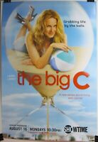 """THE BIG C - """"Grabbing Life By The Balls"""" Showtime Series Poster Original NEW"""