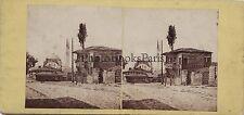 Turquie Turkey Constantinople Stereo Gaudin Frères Vintage albumine ca 1860