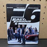 Fast & Furious 6 (Blu-ray/DVD, Steelbook, 2013, 2-Disc Set)