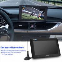 """MINI 9"""" LED TELEVISORE DIGITALE DVB-T DVB-T2 TV PLAYER LETTORE PVR USB TF"""
