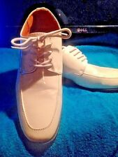 Aldo Bellini White lethar Dress Shoes -Size 8 - EUC