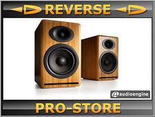 Audioengine P4 Bambus passive Lautsprecher Regallautsprecher
