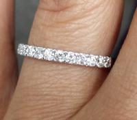 DEAL! Genuine 0.50CT Natural Diamond Engagement Wedding Band Ring 14K Gold