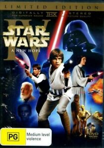 STAR WARS IV A NEW HOPE DVD 2 DISC LIMITED EDITION REGION 4 NEW AND SEALED