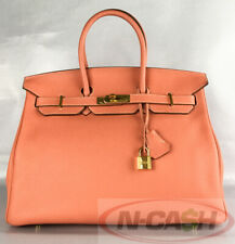 BIGSALE! AUTHENTIC $11900 HERMES Birkin 35 Crevette Clemence Bag