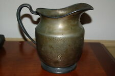 "Antique Pitcher stamped Epns 7.75"" tall - Holds 88 ounces!"