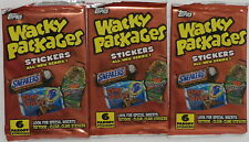 Topps Wacky Packages Stickers Series 1 2004 3 Sealed Packs