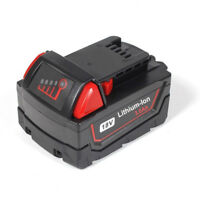 18V Lithium-Ion Battery for Milwaukee M18 48-11-1850 48-11-1840 XC 3.0Ah
