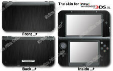 Scratches Brushed Metal Pattern Cool Skin Sticker Cover for NEW Nintendo 3DS XL