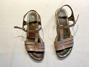 Ecco Metallic Silver Sandals Women's Size 39