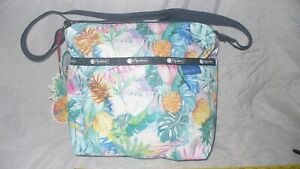 MIP Lesportsac Lauren Roth Uluwehi Small Cleo Crossbody Hawaii Boutique Exclusiv