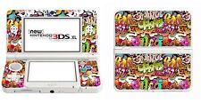 Graffiti In Vinile Adesivo della pelle per Nintendo 3ds XL (con Stick C) 3dsxl4