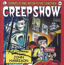 CREEPSHOW George Romero CD JOHN HARRISON Soundtrack Score SIGNED AUTOGRAPHED New