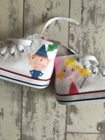 Ben and Holly Kids Custom Converse Shoes Character Personalised Shoes