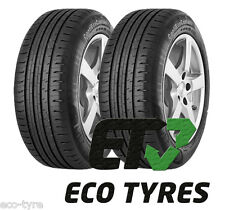 2X Tyres 165 60 R15 77H Continental ContiEcoContact5 C B 70dB