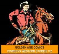 DELL COMICS GENE AUTRY WESTERNS COMICS Lot DVD Cowboy Ranger Golden Age Book 2