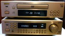 Denon Gold DVD-F100 DVD Player & AVR-F100 Surround Receiver/AV Amplifier, Tuner