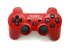 Sony ps3 DualShock 3 Sixaxis controller rojo Wireless original PlayStation 3 Pad