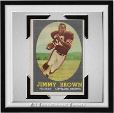 1958 Topps JIM/JIMMY BROWN RC #62 VG+ ~nice football card for set~ ORIGINAL .d22