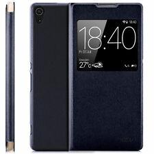 Hülle Sony Xperia XZ3 - Schutzhülle Handy Tasche Flip Case View Cover Fenster S