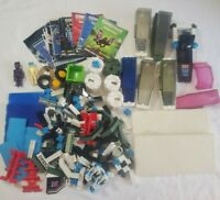 3 Pounds Mixed LOT of Vintage 80's Fisher Price Construx Toys
