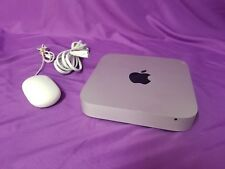 Apple Mac mini A1347 Desktop  Works great with mouse !