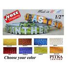 Custom Puppy Collars with metal letters - Personalized Puppy or Cat Collars -XS