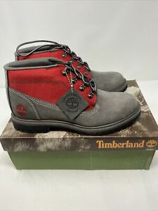 VTG Timberland Campsite Graphite Chukka Leather 28315 Hiking Boots Sz 7.5 NOS