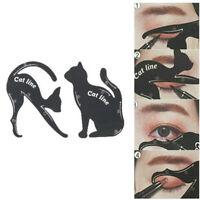 2pcs/set Cat Line maquillage outil eye-liner pochoirs gabarit modèle façonneurBB