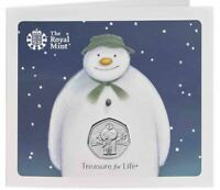 2019 THE SNOWMAN Coin on Card