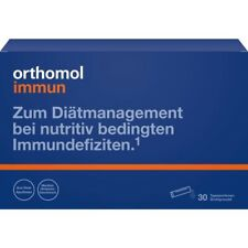 ORTHOMOL Immun Direktgranulat   Himbeer/ Menthol    30 st     PZN8885937