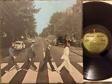 "Beatles Abbey Road 12"" LP w/Sewer, w/o Her Majesty SO-383 1st US Pressing Shrink"