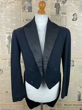 Vintage Edwardian US American evening white tie evening tails tailcoat size 40