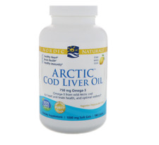 NEW NORDIC NATURALS ARCTIC COD LIVER OIL HEALTHY HEART IMMUNITY BRAIN HEALTH