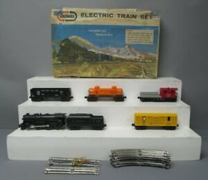 Lionel 11540 Vintage O Six Unit Steam Freight Train Set/Box