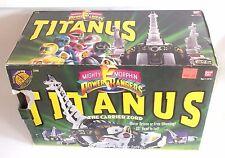 VINTAGE Zyuranger DX KING BRACHION Bandai MMPR Dino Megazord Titanus 1993 SEALED