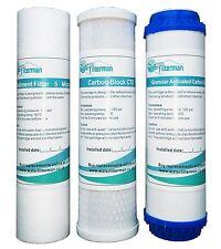 3 pre Filtros Para Osmosis Inversa Filtros de agua, reemplazo Ro Filtro Set-Nuevo