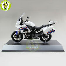 1/10 LCD Benelli BJ600J-A Cruise Police Motorcycle Diecast Model Toys Kids Gift